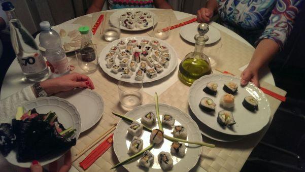 Home Made Sushi