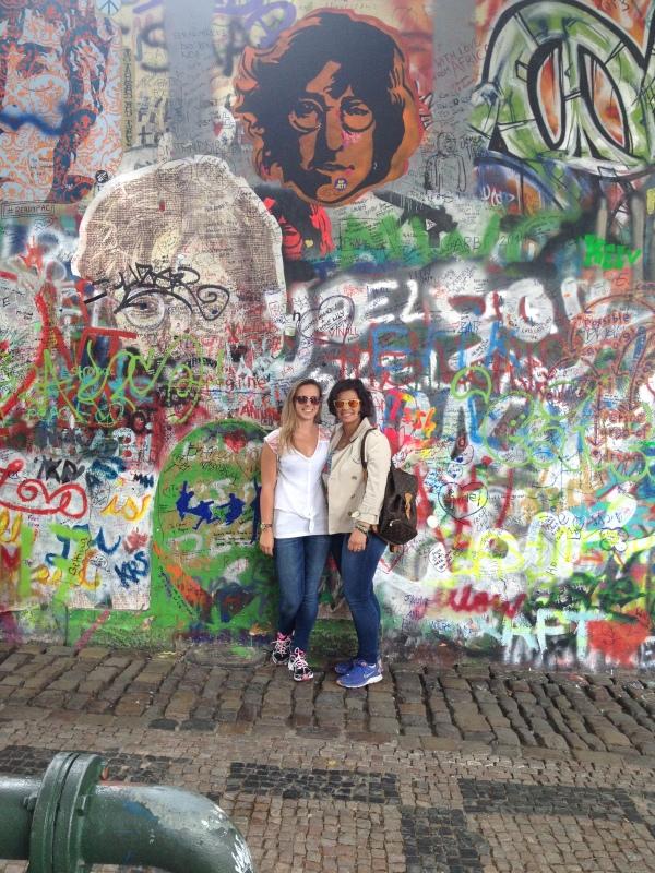 Prague Day 3 John Lennon's Wall