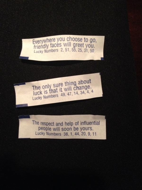 Fortune's Cookies in Canada
